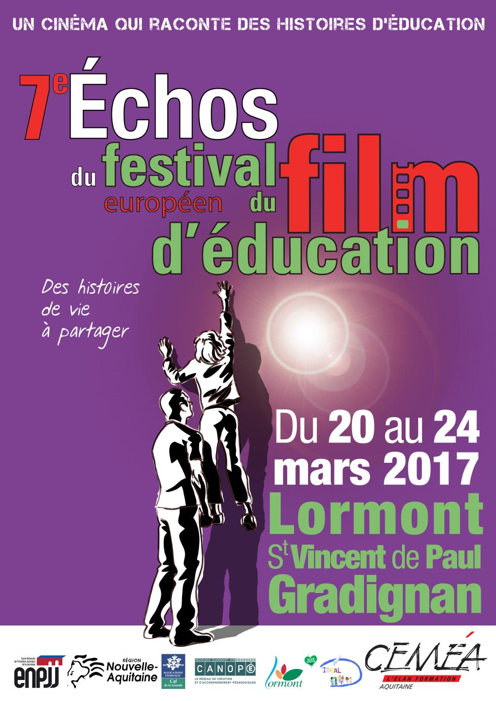 Résultats de recherche d'images pour «festival du film éducatif lormont 2017»